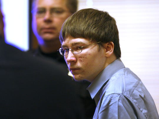 Brendan Dassey appears in court April 16, 2007, at the Manitowoc County Courthouse in Manitowoc.