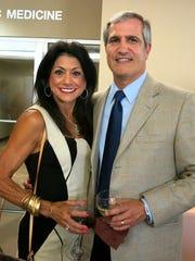 Teri and Barry Busada at Peter Campbell Reception.