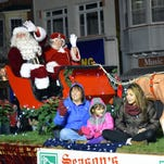 City parades kick off Christmas season
