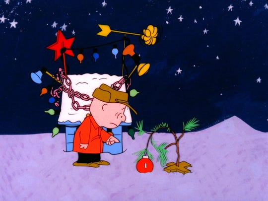 """The classic """"A Charlie Brown Christmas"""" will air at 8:30 p.m. Dec. 2 on ABC."""