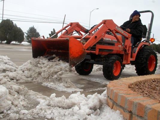 Snow cleanup