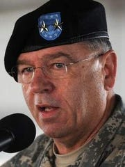 Maj. Gen. Frank Vavala said the Delaware National Guard has trucks positioned in Sussex County in case anyone needs help during an expected Friday wind storm.