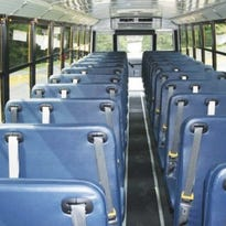Some WNC school districts got new buses equipped with seatbelts.