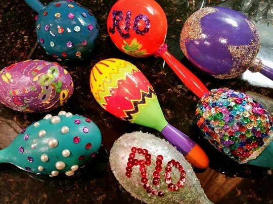 Parade organizers estimate that the average female krewe member will have a dozen custom maracas ready for parade day, which will amount to over 3,000 custom prize throws