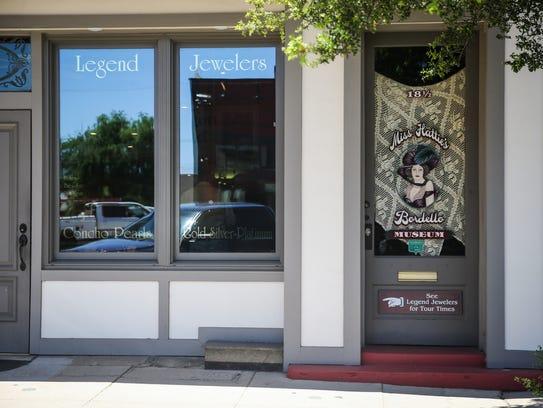 Miss Hattie's Bordello Museum located at 18 1/2 E.
