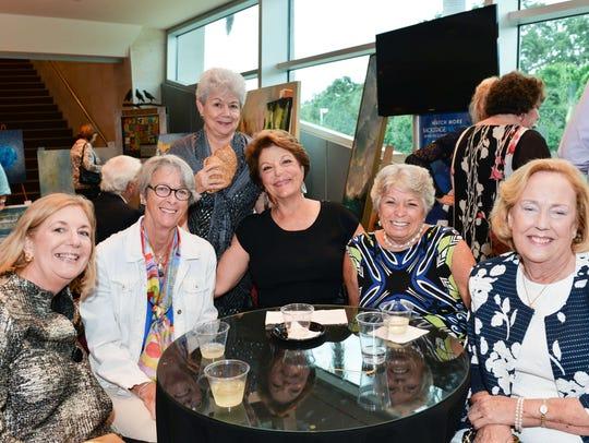 Sue Chadeayne, left, Roz Chadwick, Pat Gapaldon, Deborah