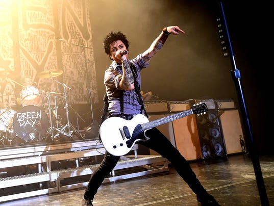 Green Day Performs At The Hollywood Palladium