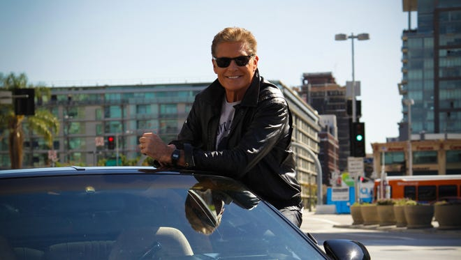David Hasselhoff returns to U.S. television in the British series 'Hoff the Record.'