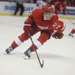 Red Wings' Dylan Larkin full of confidence after overseas stint