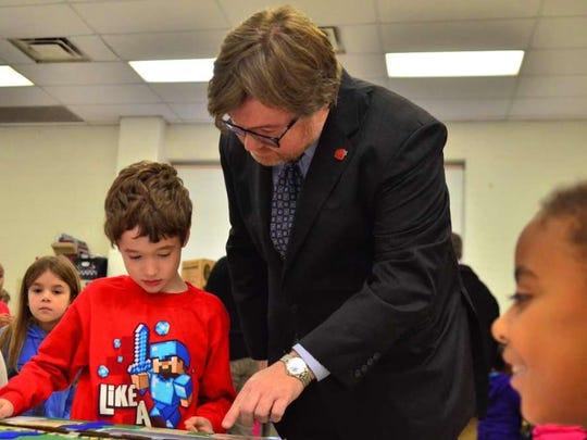 Interim schools superintendent Vincent McHale in a 2014 file photo.