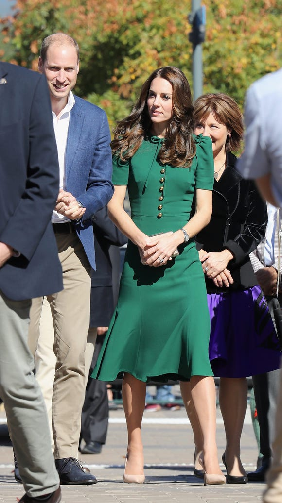 Will and Kate visited the University of British Columbia