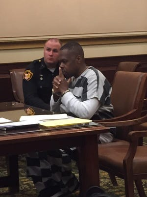 Howard Martin appears in court Tuesday morning.