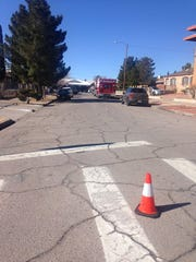 The El Paso Police Department responded to a SWAT situation on Porfirio Diaz Street in the Sunset Heights area.