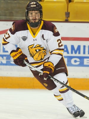 The Ice Flyers signed Minnesota-Duluth forward Cal Decowski, who played all four seasons at the NCAA Division I school.
