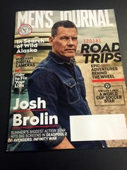 Photo of the June 2018 cover of Men's Journal. The