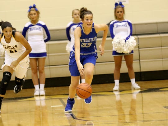 Hamilton Southeastern freshman Sydney Parrish is attracting