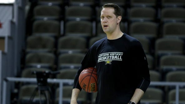 Northern Kentucky University head coach John Brannen