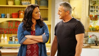 Liza Snyder is Andi and Matt LeBlanc is stay-at-home dad Adam in 'Man With a Plan.'