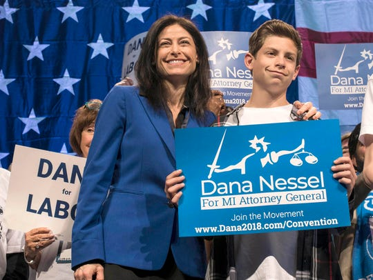 Dana Nessel won the Democratic endorsement for Michigan