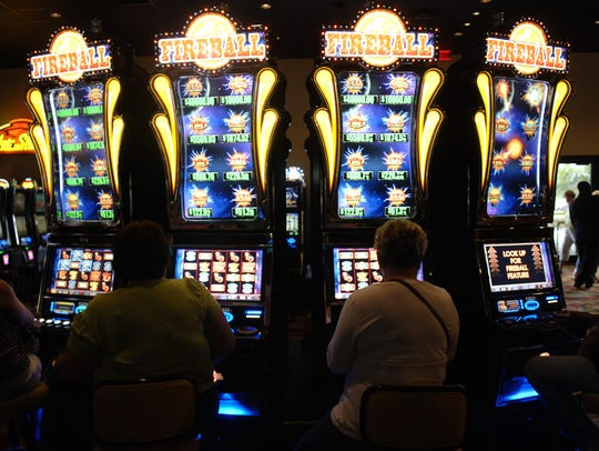 Slot machines are a popular draw to the Seminole Casino