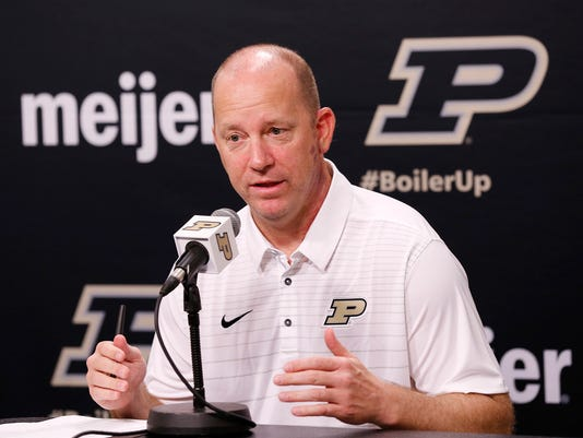 LAF Purdue football media day
