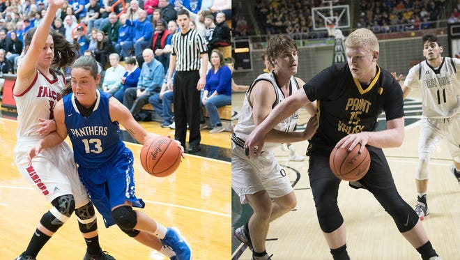 Southeastern's Ella Skeens and Paint Valley's Dylan Swingle have been named the AP's Southeast District Division III Players of the Year.
