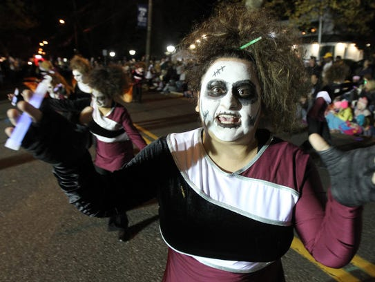 a toms river south marching band member scares her - Halloween Stores In Toms River Nj
