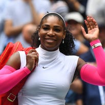 Serena Williams jokes about falling for a nerd