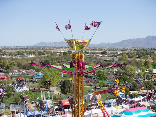 The 28th Annual Chandler Chamber Ostrich Festival at