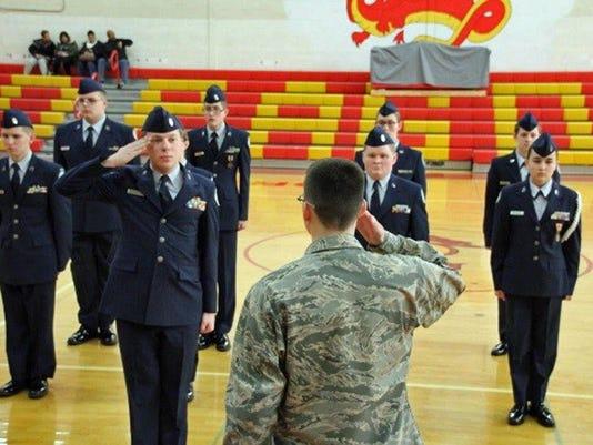 309 SR ROTC Drill Team