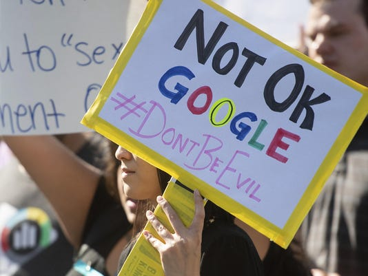Google Sexual Misconduct Shakeup