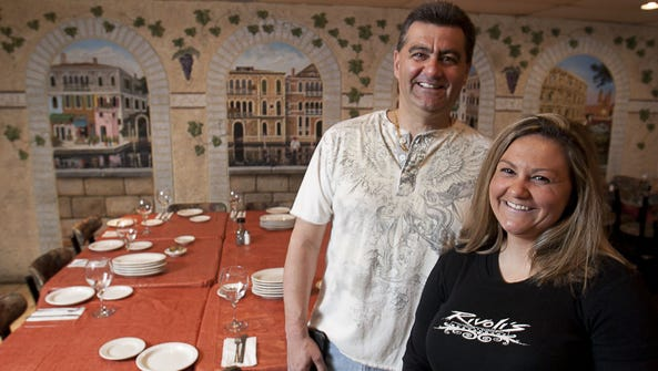 Tony Rivoli, owner of Rivoli's Italian & Seafood Restaurant