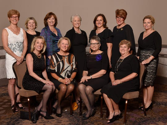 Giving Hope founding members include (seated, from left) Karyl Niemi, Loren Wadington, Joan Noricks and Jean LaJoy and (standing, from left) Linda Radtke, Jean Stenger, Nancy Eggenberger, Betty Bloch, Carla O'Malley, Terry Bennett and Martha Snow.
