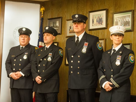 Millville Fire Captain Christine Tonetta, Firefighter