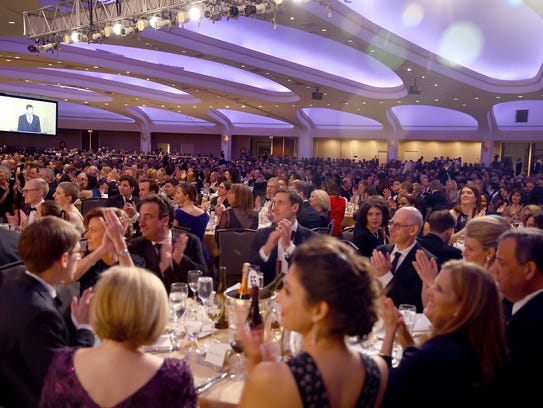 During the 2018 White House Correspondents' Dinner