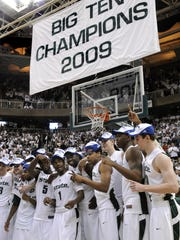 Michigan State last won an outright Big Ten title in
