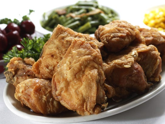 Fried chicken has been served at Hollyhock Hill restaurant
