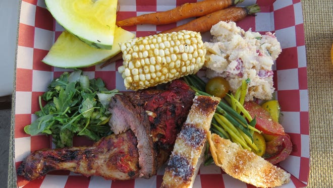 The free, self-guided Ventura County Farm Day event is followed each year by an optional, ticketed barbecue meal that features local fruits and vegetables. The dinner this year will take place from 4 to 9 p.m. Nov. 5 at the Ventura County Fairgrounds.