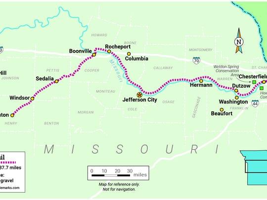 Missouri's Katy Trail