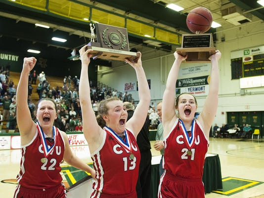 DI Girls Basketball Championship - CVU vs. St. Johnsbury 03/18/17