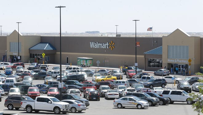 Wal-Mart dominates the El Paso grocery market with nine Supercenters, including this one at Transmountain and U.S. Highway 54 in Northeast El Paso, and nine Neighborhood Markets.