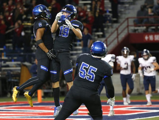 Chandler football holds off Perry in classic 6A state ...