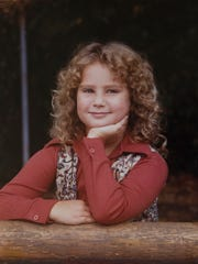 A childhood photo of Heather Miller.