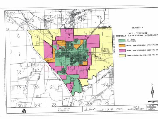 Orderly Annexation Agreement between St. Joseph Township