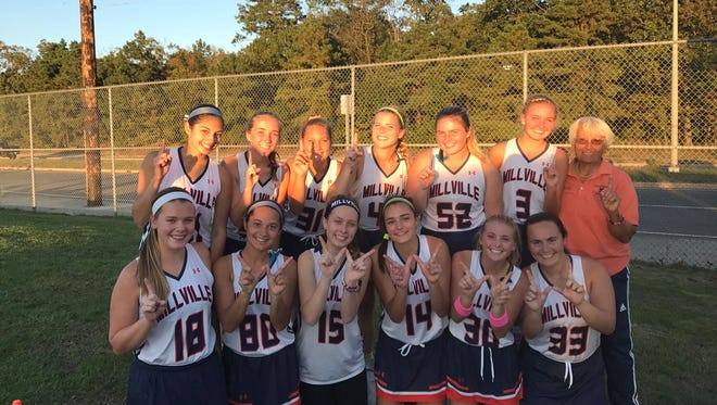 The Millville High School field hockey team notched its first win over Ocean City in 17 years. Now, the team is one win away from the conference title.