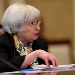 Federal Reserve Chair Janet Yellen has said she expects inflation to pick up as oil price declines moderate.
