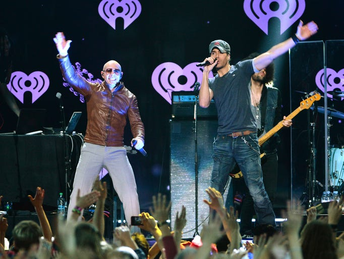Enrique Iglesias and Pitbull, Sept. 21, Palace of Auburn Hills - The duo, who last toured together in 2011, return to the Palace for another double bill (although we can't figure out why Pitbull isn't headlining).