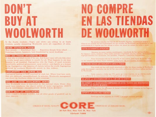 Woolworth Boycott by CORE