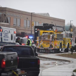 Gunman at Maryland high school dies after armed school officer intervenes; 2 others injured
