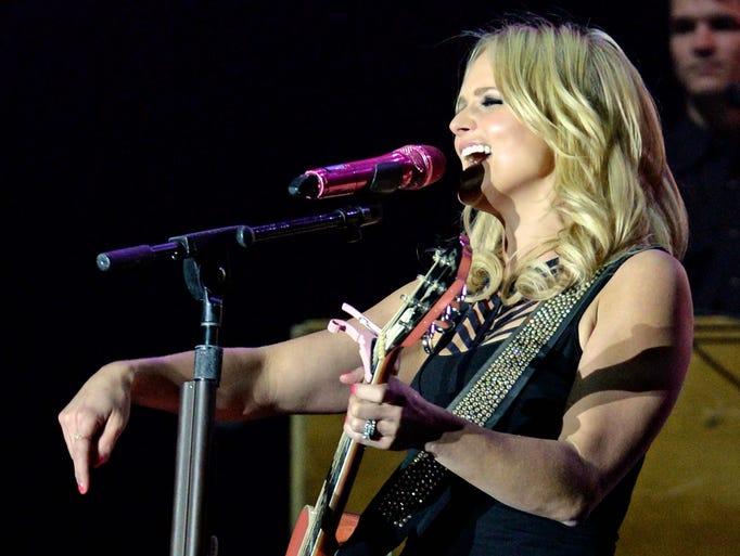Miranda Lambert headlines Country Thunder on Saturday,